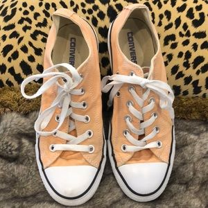 Peach color converse